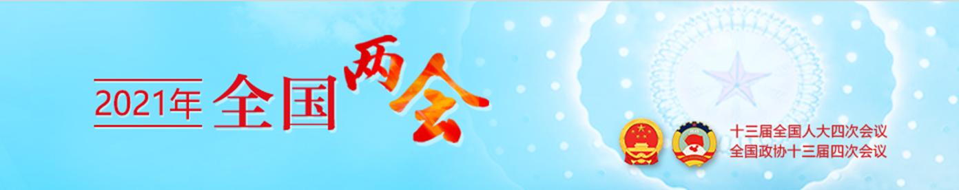 中国政府网《2021全国两会》专栏